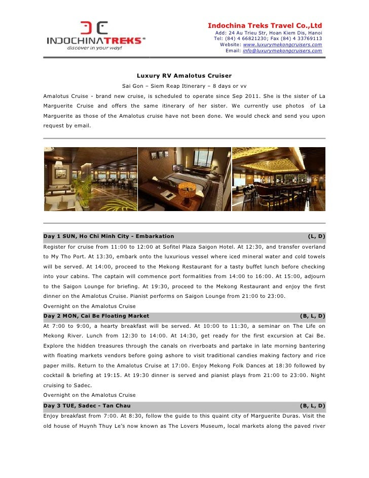Indochina Treks Travel Co.,Ltd                                                              Add: 24 Au Trieu Str, Hoan Kie...
