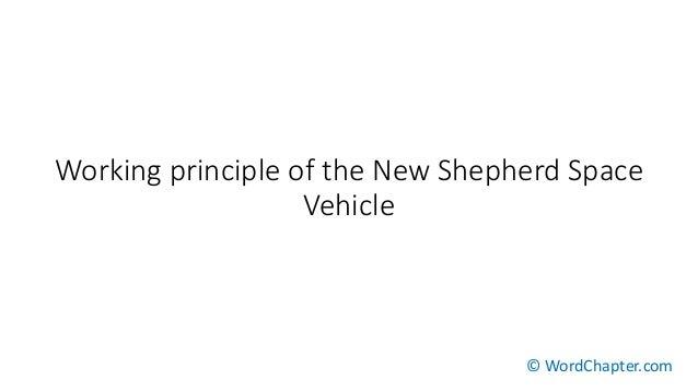 Working principle of the New Shepherd Space Vehicle © WordChapter.com