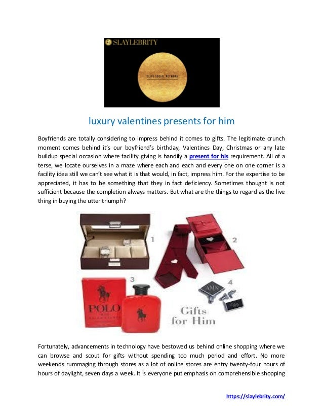 ca4327af502b5 https   slaylebrity.com  luxury valentines presents for him Boyfriends are  totally ...
