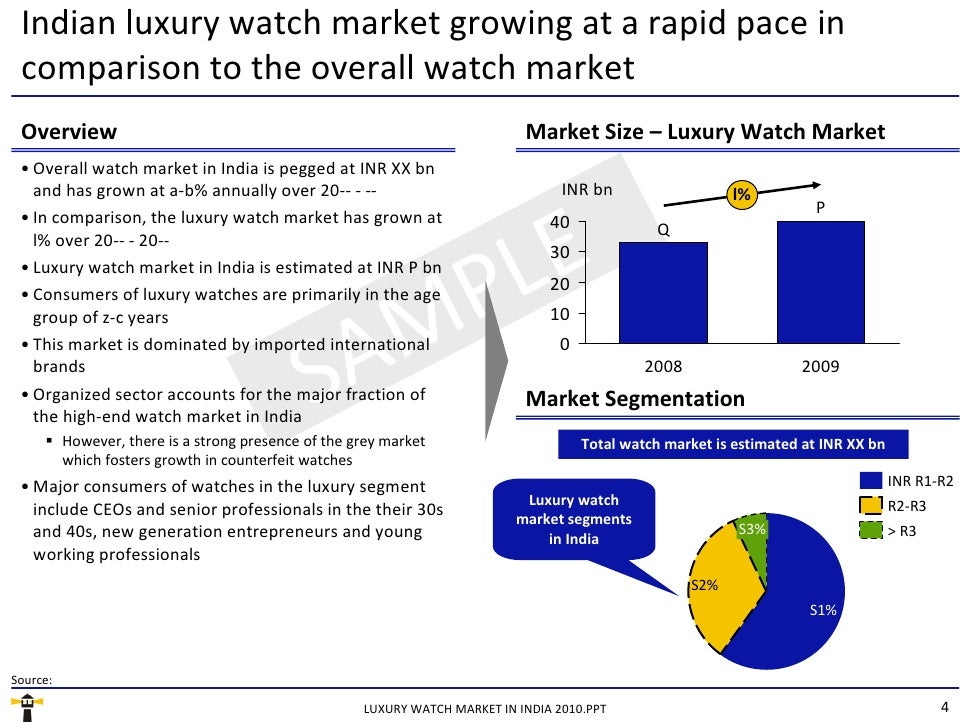 market research on luxury watches Discover all statistics and data on luxury watch industry now on statistacom   the global watch market is dominated by only a handful of countries, the clear.