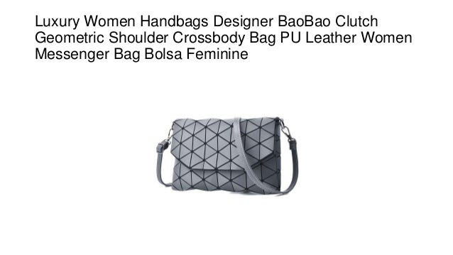 Luxury women handbags designer bao bao clutch geometric shoulder crossbody  bag pu leather women messenger bag bolsa feminine 15794cd6d844d