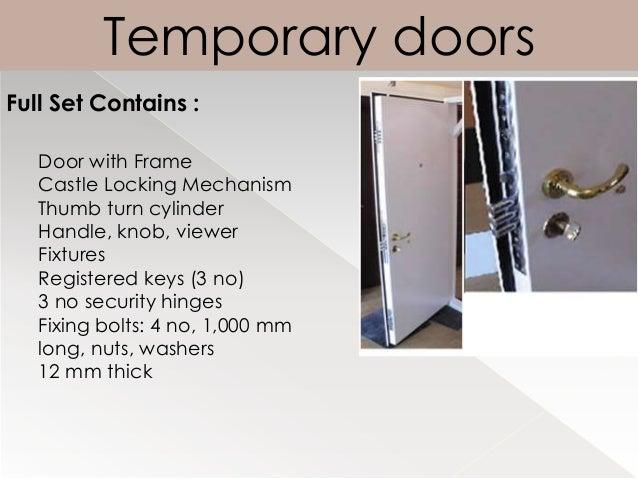 Luxury wooden security doors