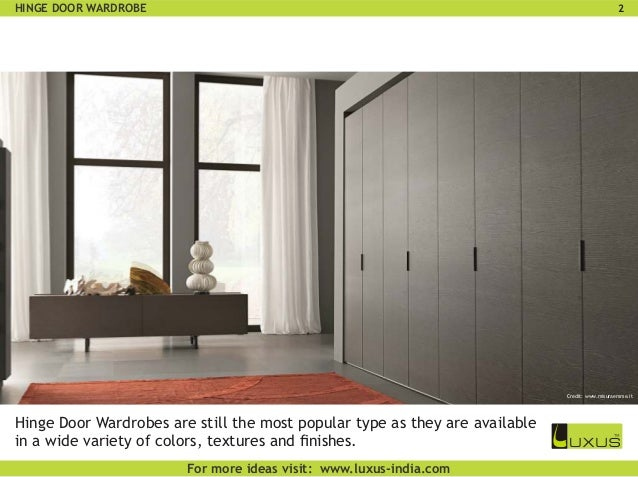 6 types of wardrobes you need to know about