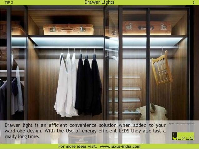 wardrobe lighting ideas. wardrobe rail lights 6 lighting ideas