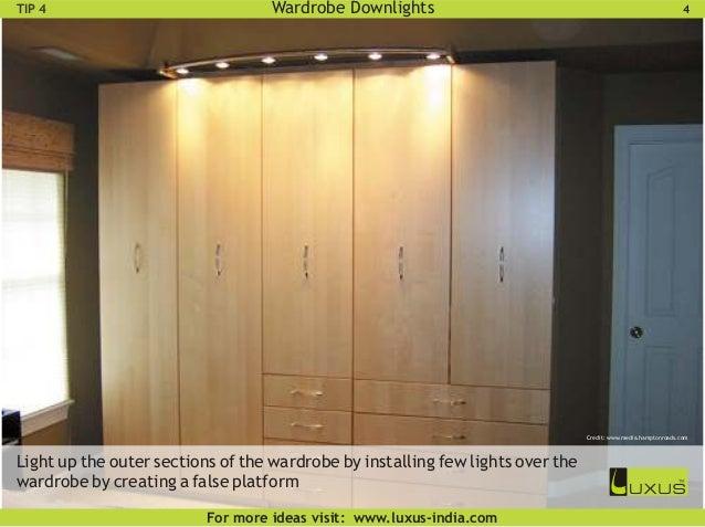 wardrobe lighting ideas. Drawer Lights; 7. Wardrobe Lighting Ideas R
