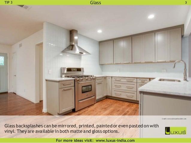 Kitchen Backsplash Options guide to modular kitchen backsplash options