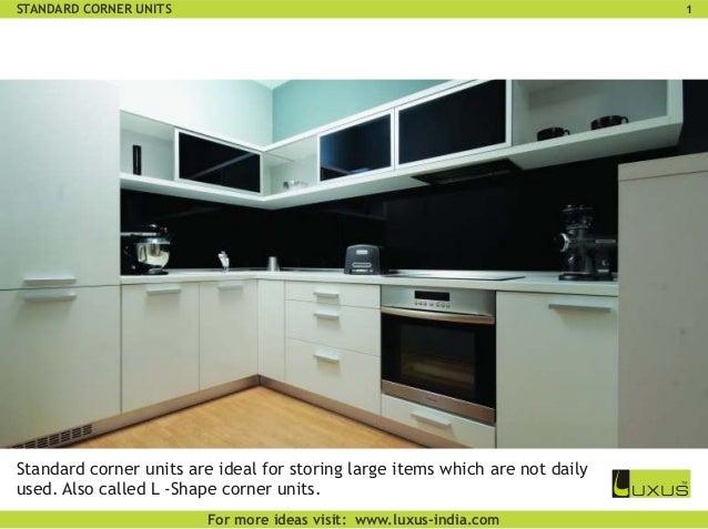 Luxus kitchen corners