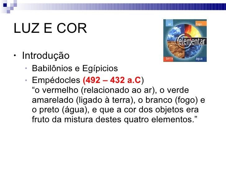 Luz & Cor Slide 3