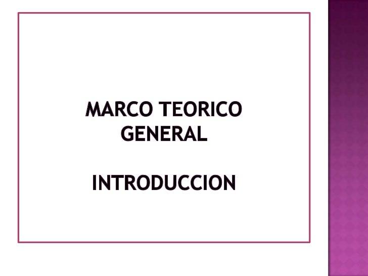    El Marco Teórico es una investigación preliminar sobre    documentos y libros (es decir, documental y bibliográfica) p...