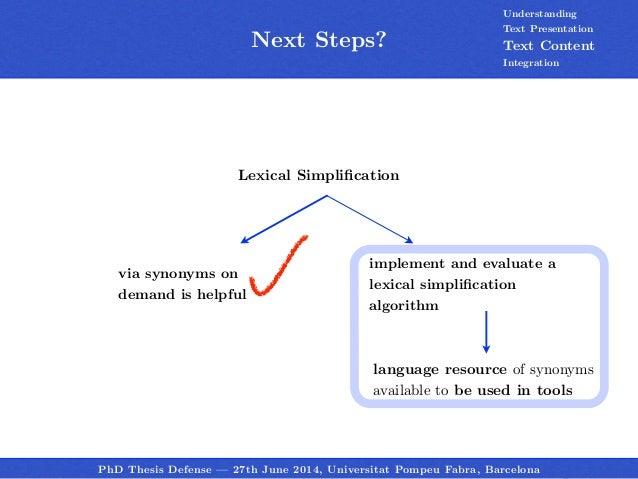 Phd thesis synonym essay service feedback