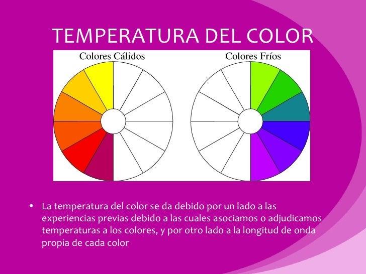 Luz y color - Colores frios y colores calidos ...