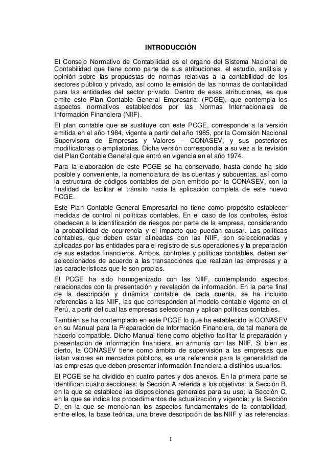 Dinamica Del Plan Contable Financiero 2017 Pdf Peru