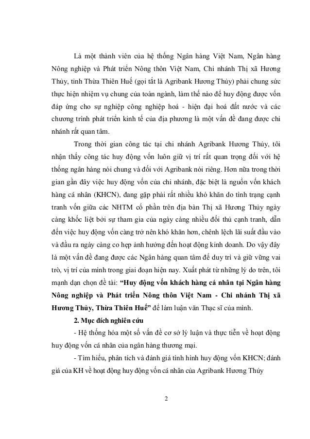 2 Là một thành viên của hệ thống Ngân hàng Việt Nam, Ngân hàng Nông nghiệp và Phát triển Nông thôn Việt Nam, Chi nhánh Thị...