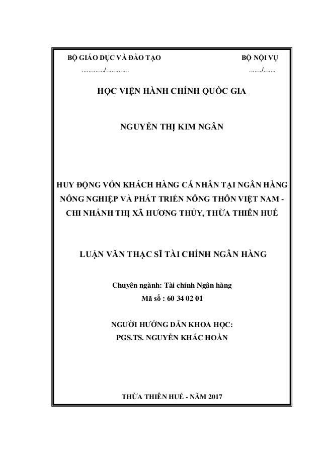 BỘ GIÁO DỤC VÀ ĐÀO TẠO BỘ NỘI VỤ ............./............. ......./....... HỌC VIỆN HÀNH CHÍNH QUỐC GIA NGUYỄN THỊ KIM N...