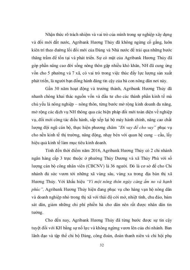 32 Nhận thức rõ trách nhiệm và vai trò của mình trong sự nghiệp xây dựng và đổi mới đất nước, Agribank Hương Thủy đã không...