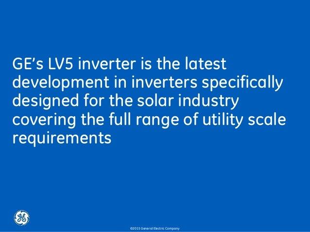 Ge lv5 1500v lv5 1500v solar inverter 10 ges lv5 inverter publicscrutiny Choice Image