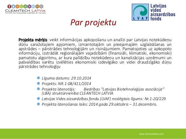 Lvaf cleantech latvia dunas_prezentacija_2014 Slide 2