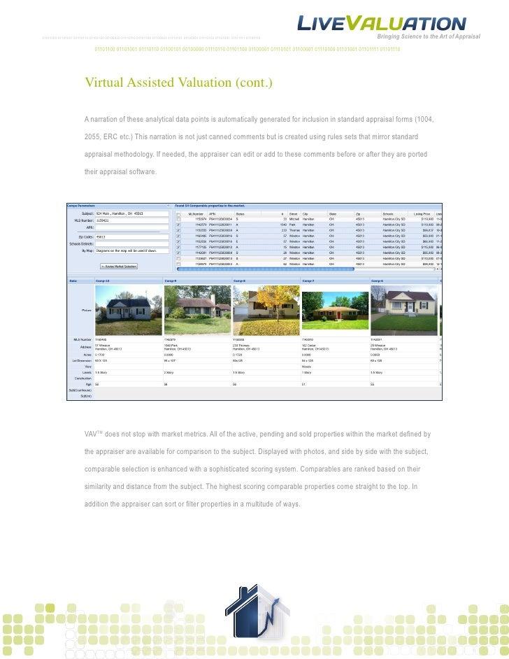 Live ValuationSample LPOBPO Report – Sample of Lpo