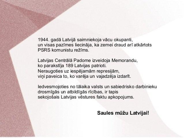 Latvijas vēsture no 1914. līdz 2014. gadam Slide 3