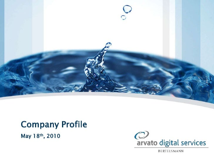 Company Profile<br />May 18th, 2010<br />
