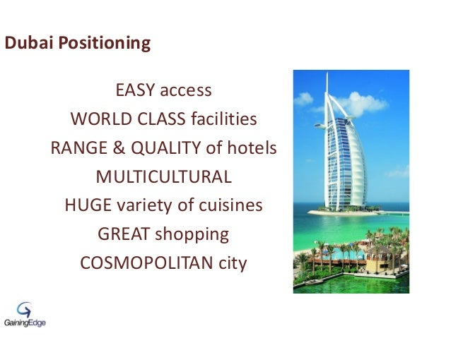 EASY access WORLD CLASS facilities RANGE & QUALITY of hotels MULTICULTURAL HUGE variety of cuisines GREAT shopping COSMOPO...