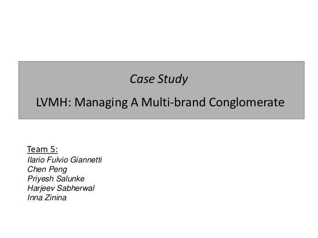 lvmh case study slideshare