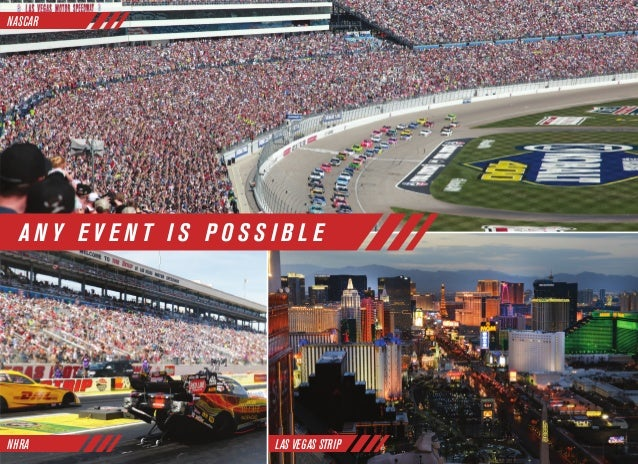 Las Vegas Motor Speedway Corporate Events