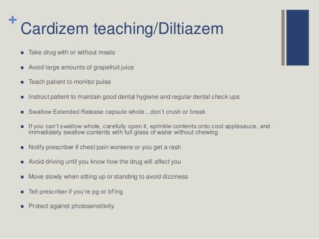 Generic Cardizem Side Effects