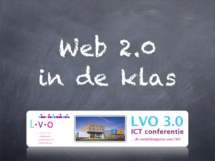 Web 2.0in de klas