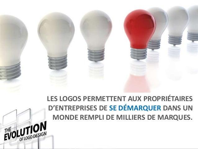 L\'évolution du design de logos