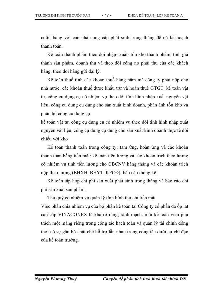 TRƯỜNG ĐH KINH TẾ QUỐC DÂN          - 17 -      KHOA KẾ TOÁN_ LỚP KẾ TOÁN A4  cuối tháng với các nhà cung cấp phát sinh tr...