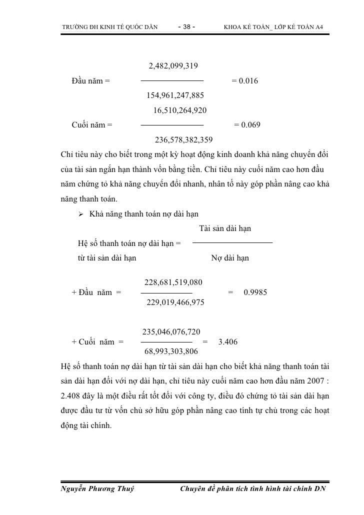 TRƯỜNG ĐH KINH TẾ QUỐC DÂN         - 38 -           KHOA KẾ TOÁN_ LỚP KẾ TOÁN A4                           2,482,099,319  ...