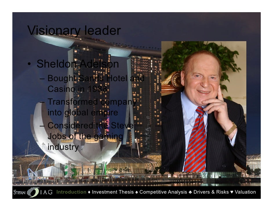 pestel analysis of las vegas sands macao Article: adam beck discusses las vegas and its competitiveness as a tourism destination in the future welcome to las vegas las vegas, nevada 'the gambling capital of the world' has an interesting and lucrative history stretching back over 100 years.