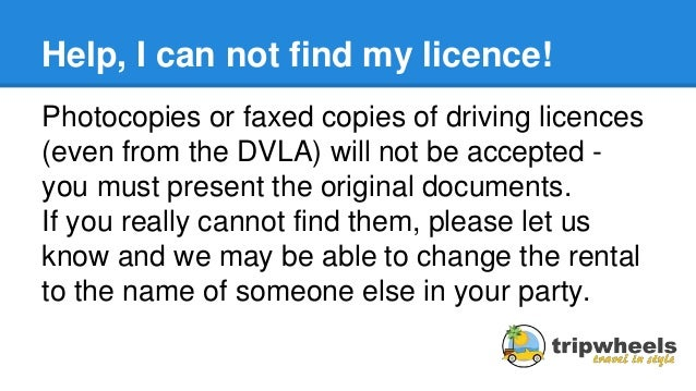 Budget Car Hire Driving Licence Requirements