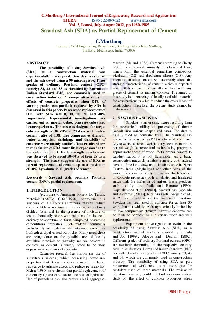 C.Marthong / International Journal of Engineering Research and Applications                    (IJERA)            ISSN: 22...