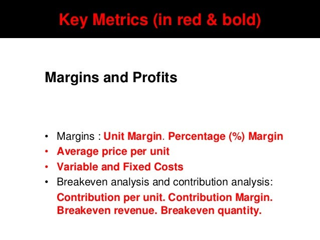 lw2 margins profitability and financial return v1901 ss