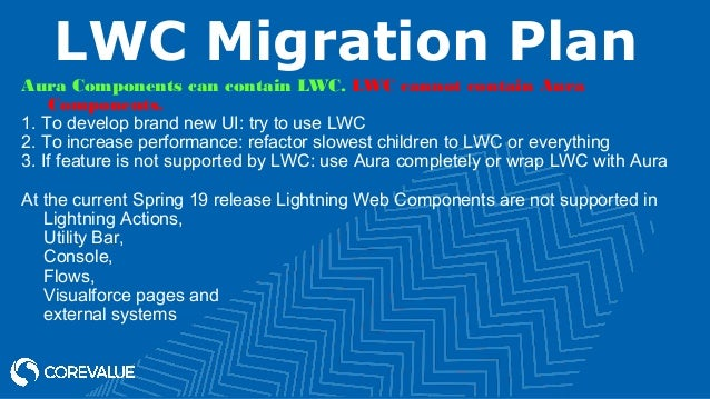 Migrate To Lightning Web Components from Aura framework to