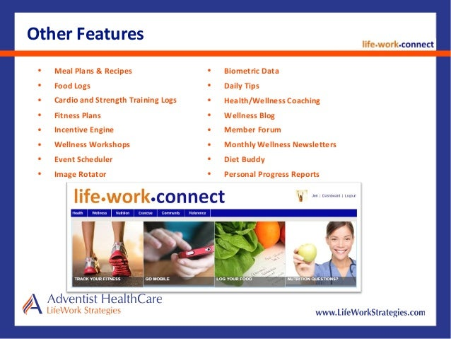 Healthcare Premium Discounts 10 Other Features O Biometric Data Daily Tips
