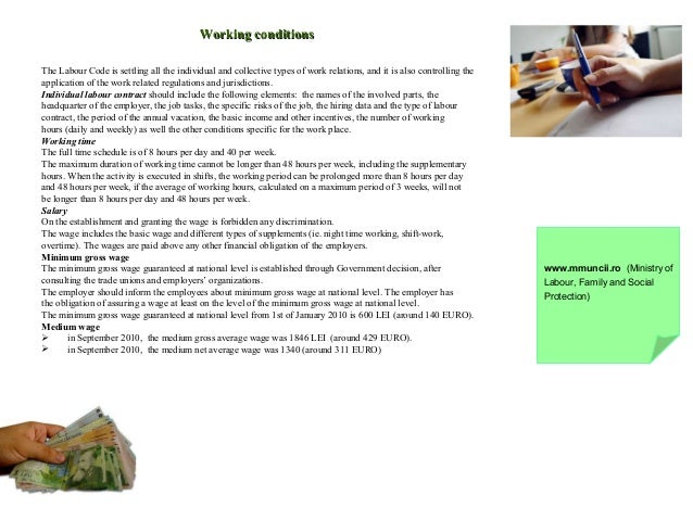 Living and working in romania presented by eures working conditionsworking conditions publicscrutiny Choice Image