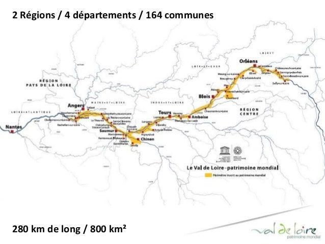 2 Régions / 4 départements / 164 communes  280 km de long / 800 km²