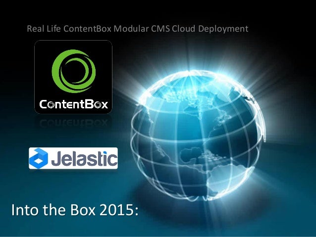 Real Life ContentBox Modular CMS Cloud Deployment Into the Box 2015: