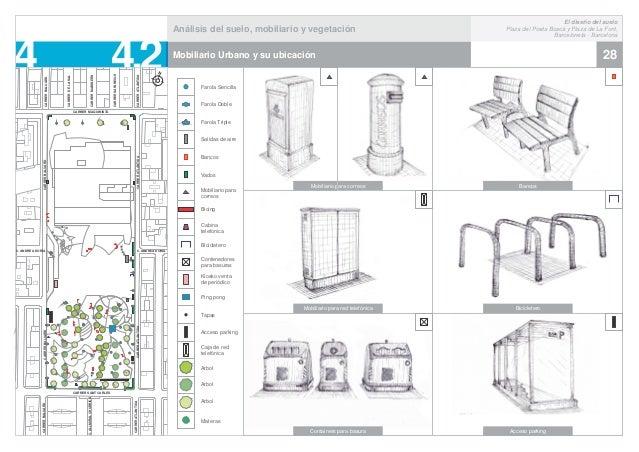 El dise o del suelo barceloneta emerson mart nez palacios for Mobiliario para planos