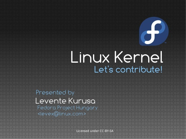 Linux Kernel - Let's Contribute!