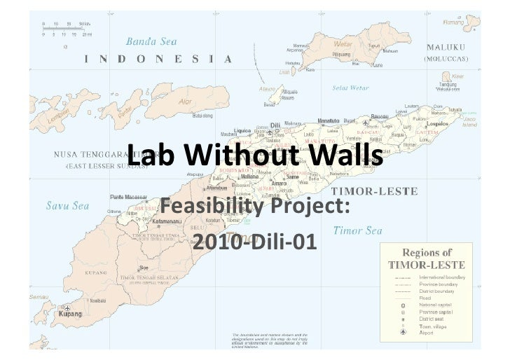 LabWithoutWalls  FeasibilityProject:     2010‐Dili‐01