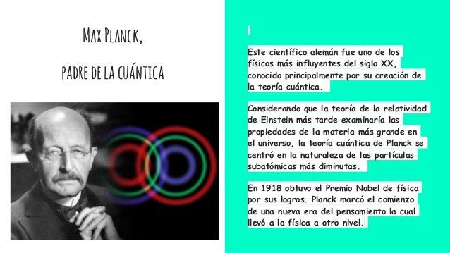 QUIMICA TEORIA DE PLANCK