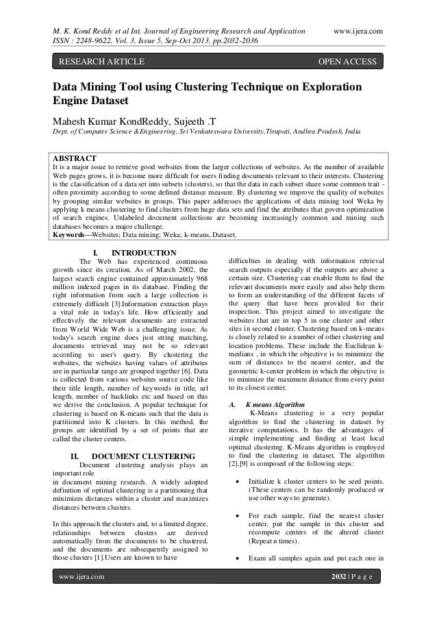 M. K. Kond Reddy et al Int. Journal of Engineering Research and Application ISSN : 2248-9622, Vol. 3, Issue 5, Sep-Oct 201...