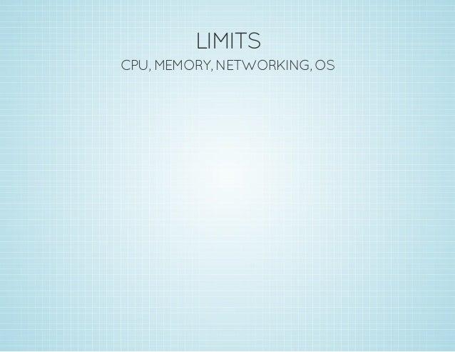 MEMORY GOOD limits, overcommit, swap usage