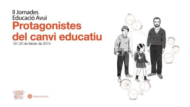 El rendiment del sistema educatiu Condicionants d'origen •Capital social, econòmic i cultural •Temps i suport familiar •Co...