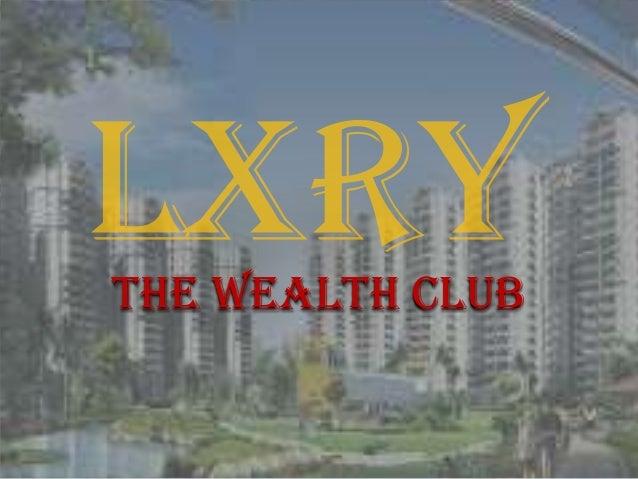 The wealth club