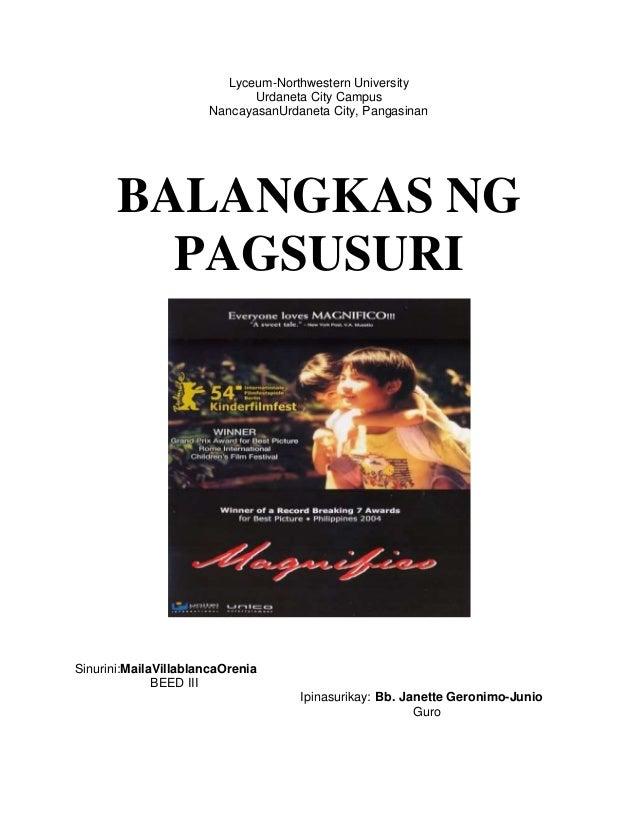 magnifico summary tagalog
